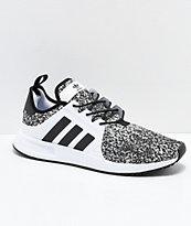 adidas Xplorer zapatos grises, negros y blancos