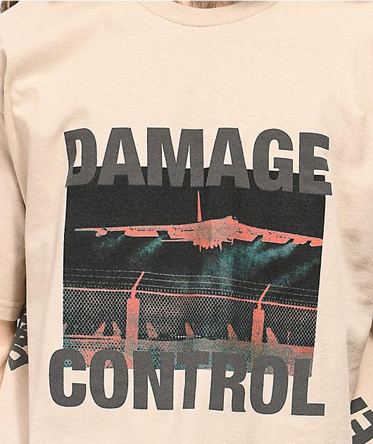 10 Deep Damage Control Tan T-Shirt