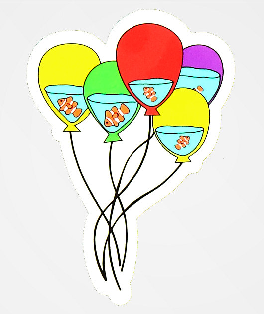 180TIDE Water Balloons Sticker