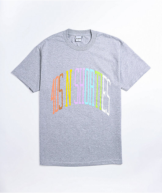 40s & Shorties Champ Heather Grey T-Shirt
