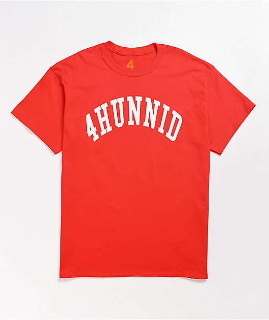 4Hunnid Athletic Red T-Shirt