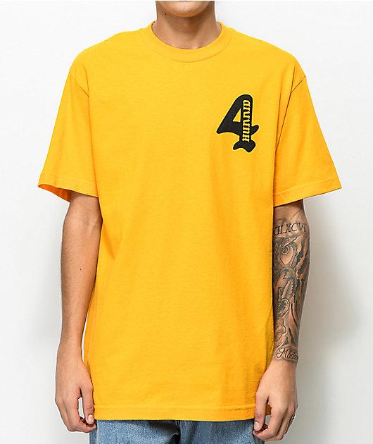 4Hunnid Cupid Gold T-Shirt