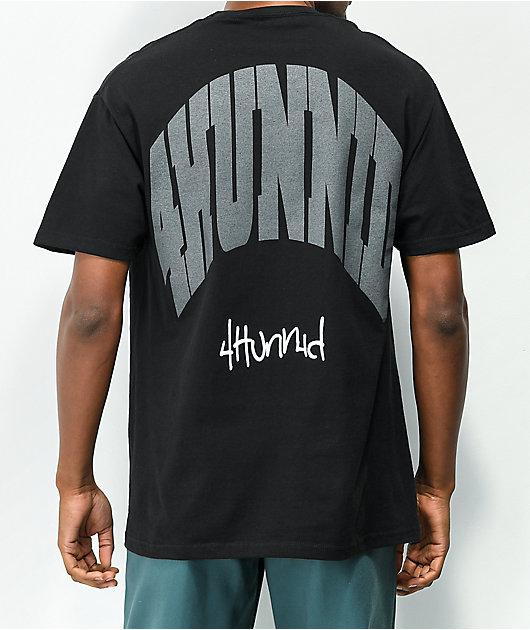 4Hunnid Curve Black T-Shirt