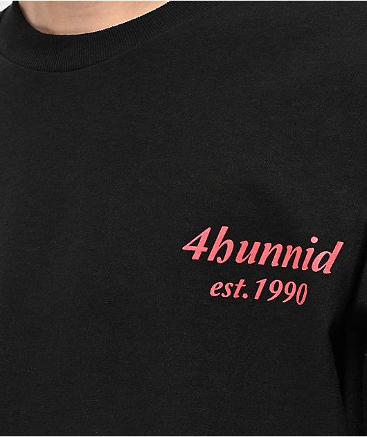 4Hunnid EST 1990 Black T-Shirt