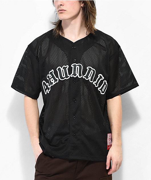 4Hunnid Homerun Black Baseball Jersey
