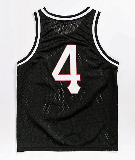 4Hunnid Olde Black Basketball Jersey