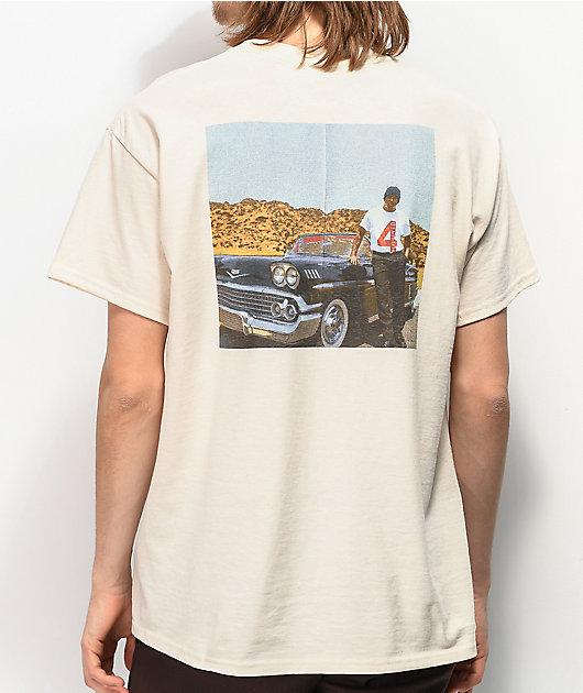 4Hunnid Photo Cream T-Shirt