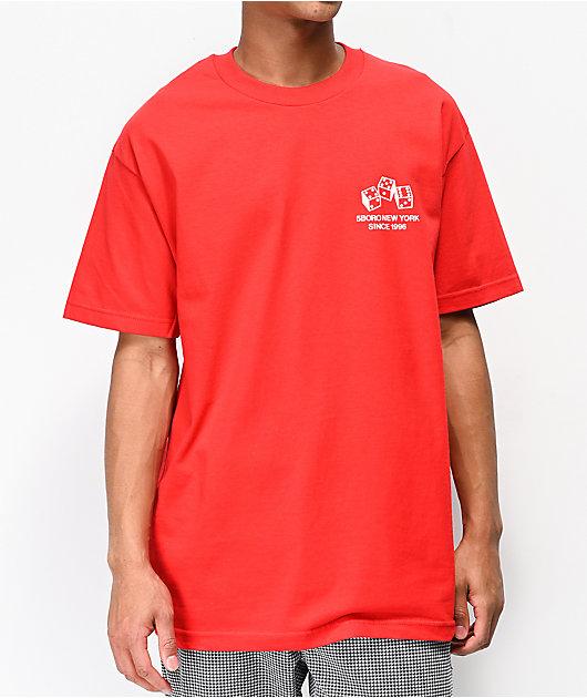 5Boro 4 5 6 Dice Red T-Shirt