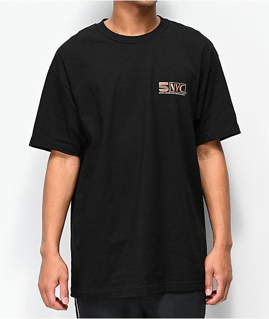 5Boro VHS Black T-Shirt