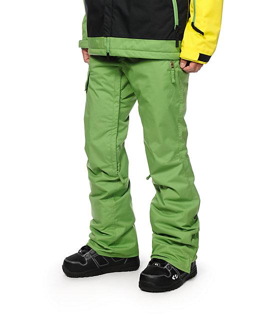 686 Quest Snowboard Pant L Celery