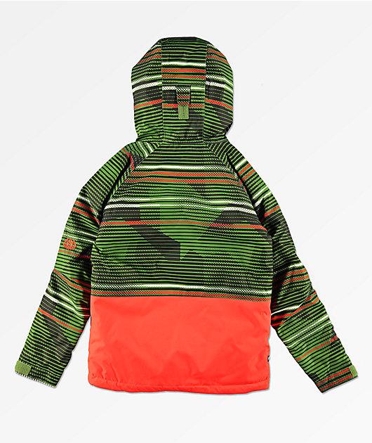686 Boys Jinx Green 10K Snowboard Jacket