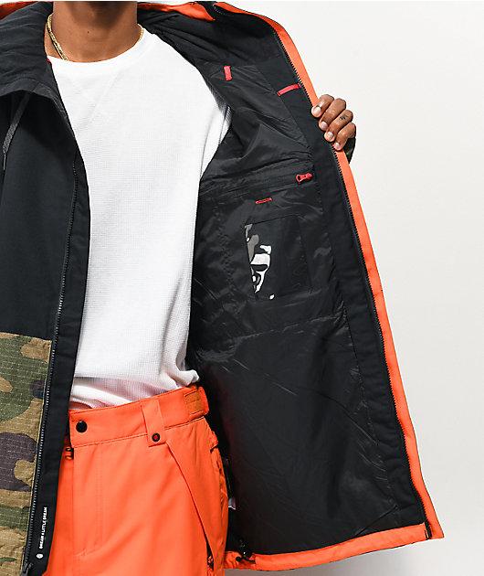 686 Foundation Camo & Black 10K Snowboard Jacket