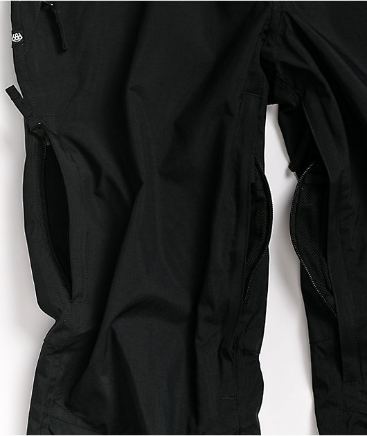 686 Standard Shell Black 5K Snowboard Pants