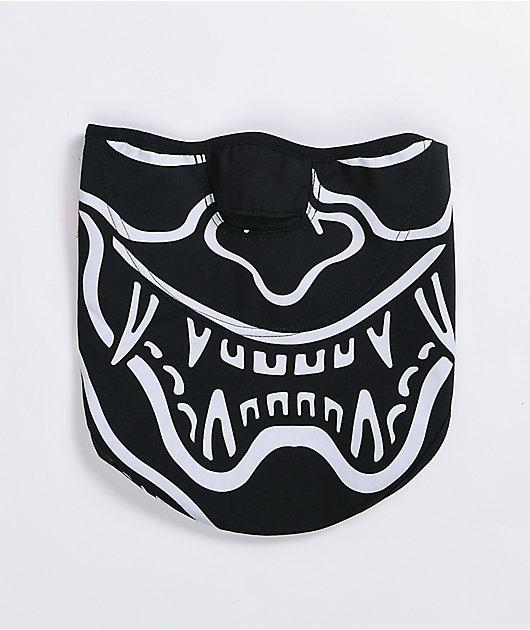 686 x Sketchy Tank Hannya Strap Black Fleece Bandana