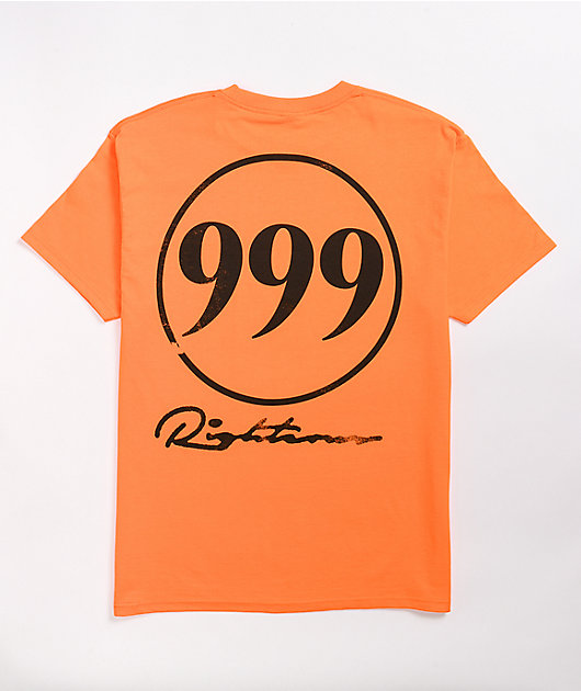 999 Club Righteous Orange T-Shirt
