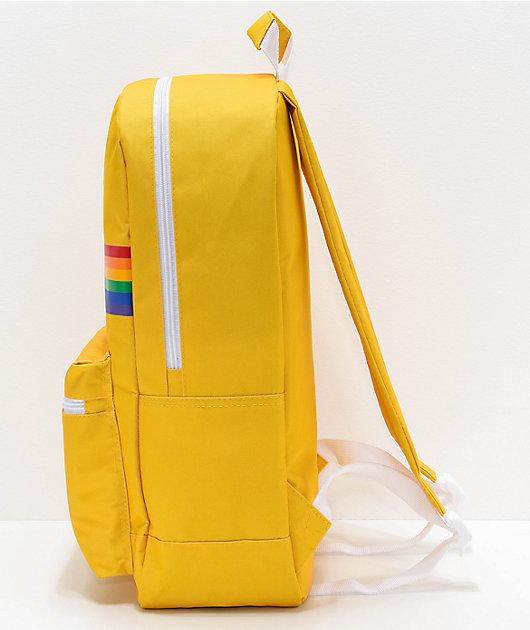 A-Lab Barbara Yellow & Rainbow Backpack