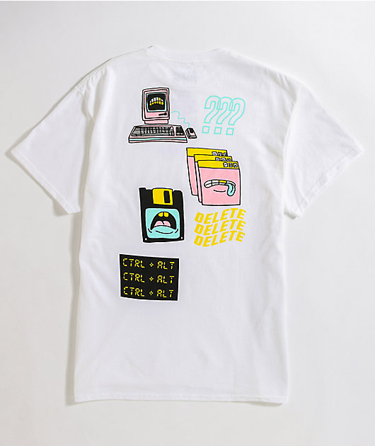 A-Lab CTRL-ALT White T-Shirt