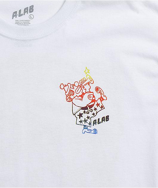 A-Lab Circus White T-Shirt
