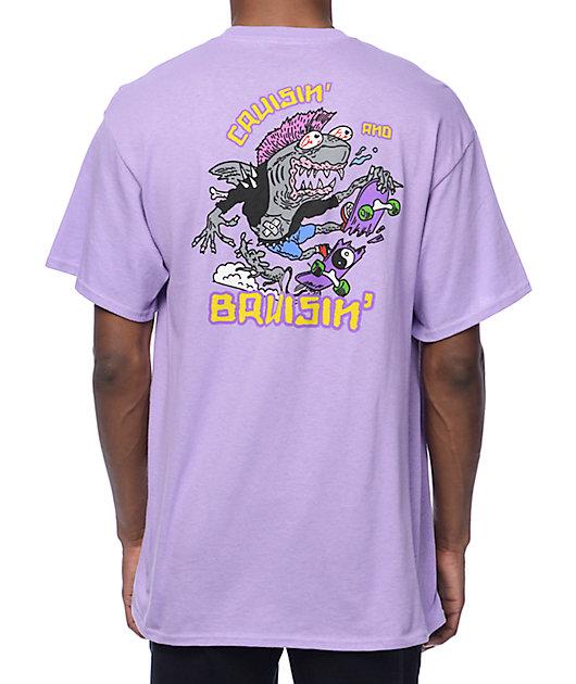 A-Lab Cruisin n Brusin camiseta en púrpura