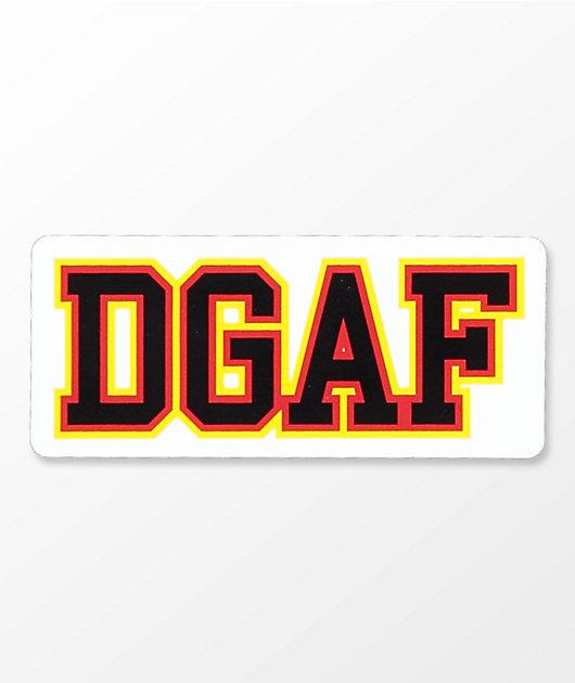 A-Lab DGAF Sticker