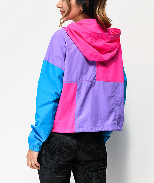 A-Lab Della Colorblock Anorak Jacket
