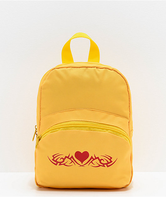 A-Lab Demi Yellow Mini Backpack