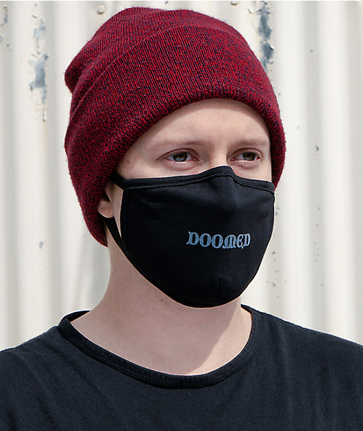 A-Lab Doomed Black Face Mask