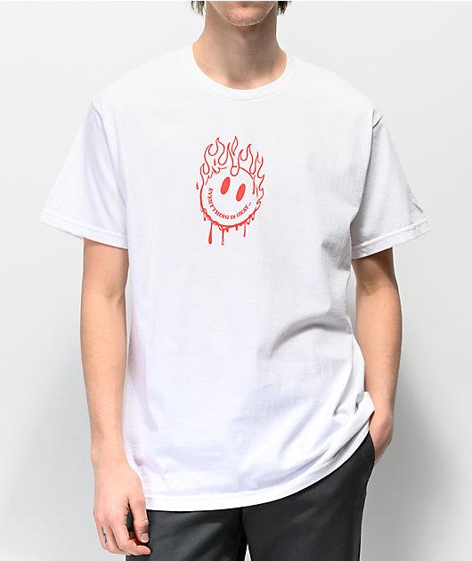 A-Lab Everything Is Okay camiseta blanca