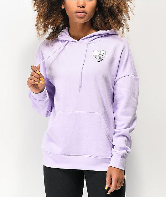 A-Lab Freela Heartbreakers Lavender Hoodie