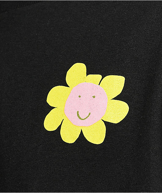 A-Lab Happy Plants Black T-Shirt