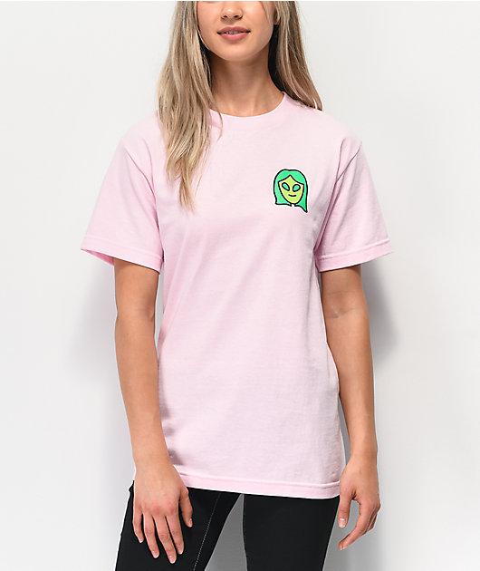 A-Lab Intergalactic Dance Club Pink T-Shirt