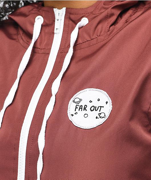 A-Lab Kenlie Far Out chaqueta cortavientos en color vino