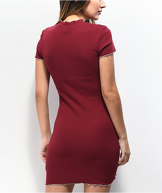 A-Lab Lexi Butterfly Red Dress