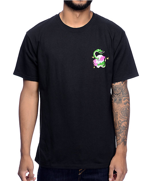 A-Lab Locals Only Black T-Shirt