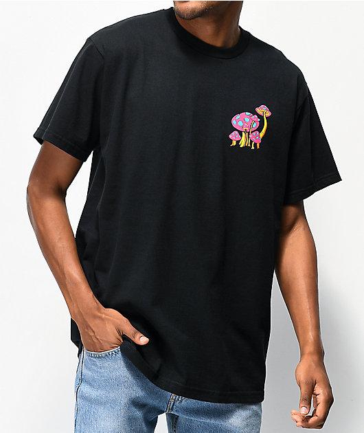 A-Lab Magic Mushrooms Black T-Shirt