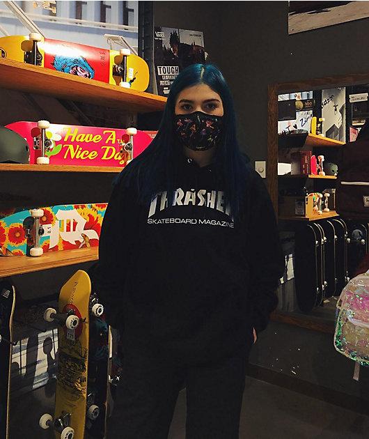 A-Lab Mushroom Black Face Mask