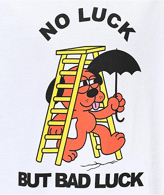 A-Lab No Luck Bad Trip White T-Shirt