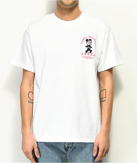 A-Lab Panda Walkers White T-Shirt