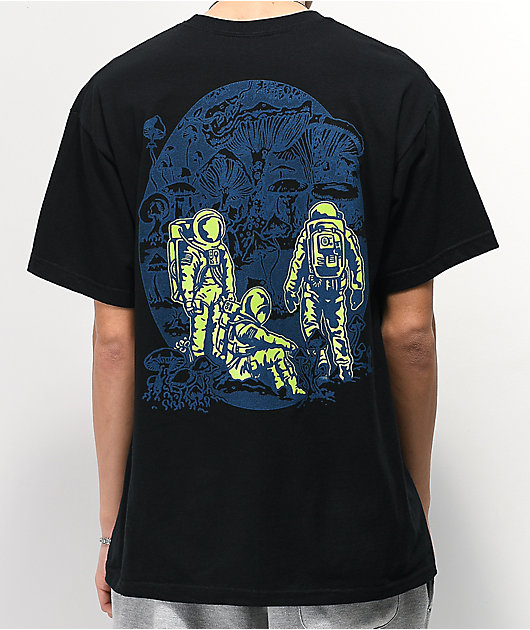 A-Lab Planet Of Fungi camiseta negra