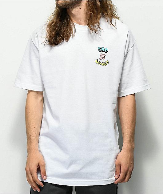 A-Lab Sad Sad World camiseta blanca