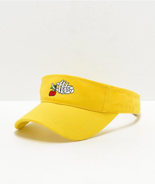 A-Lab Skeleton Hand Yellow Visor