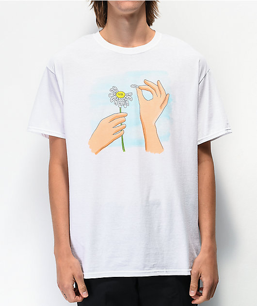 A-Lab This Or That White T-Shirt