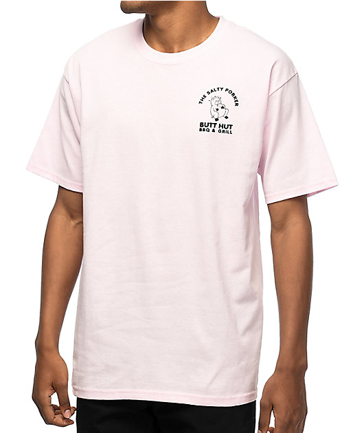 A-Lab Uncle Oinker's BBQ camiseta rosa