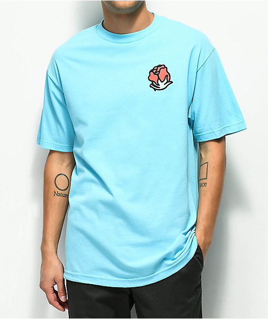 A-Lab Withered Rose Pacific Blue T-Shirt