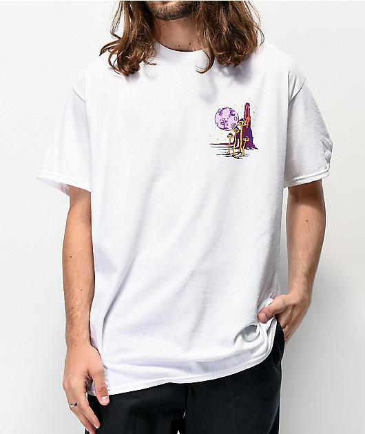 A-Lab Wizard Cruising White T-Shirt