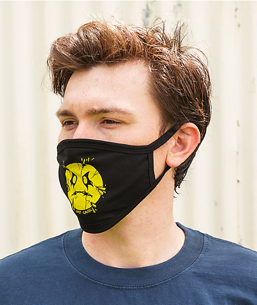A Lost Cause Broken Face Mask