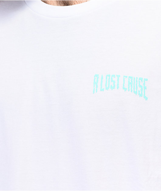 A Lost Cause Castaway White T-Shirt