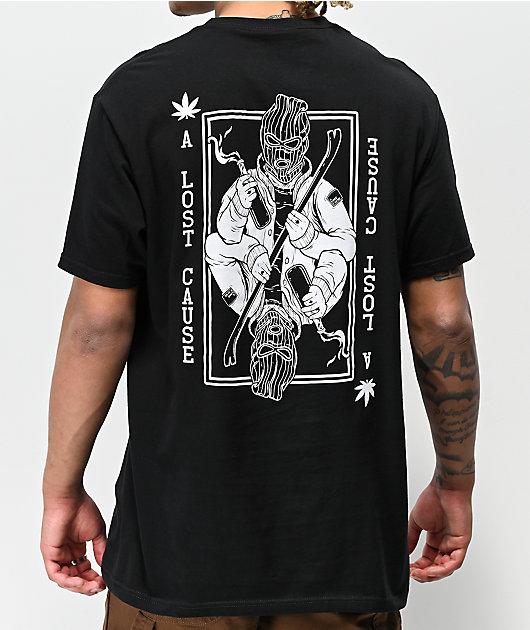 A Lost Cause Dealt Black T-Shirt
