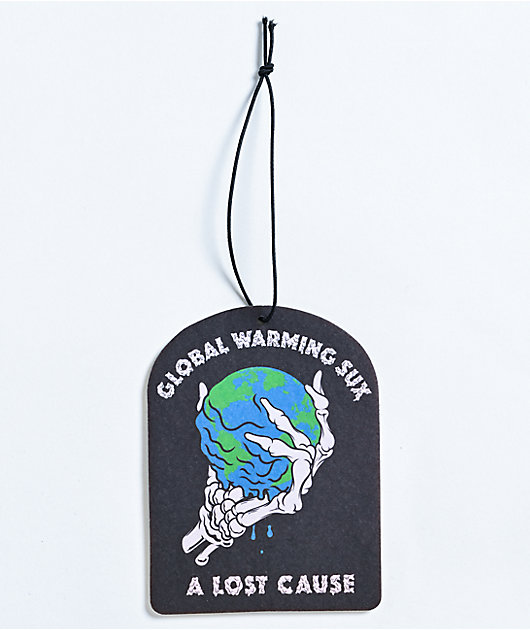 A Lost Cause Global Warming Sux Air Freshener