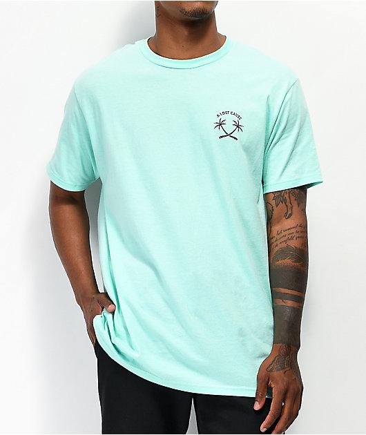 A Lost Cause Oasis Aqua T-Shirt